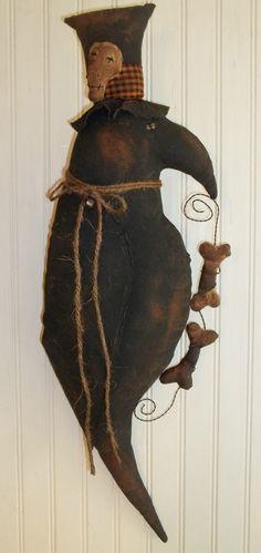 Primitive crow doll.