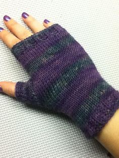 There seems to be some confusion about this pattern, so let me clear things up. These mitts may look knitted but I assure you they are crochet. The mitts are made using the Tunisian Crochet technique**