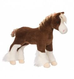 Clydesdale 15 Inch Stuffed Animal Plush Horse, Clydesdale Horses, Horse Gifts, Animals For