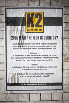 K2 PLANT HIRE Ltd Poster One