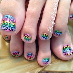 Instagram photo by playfulpolishes #nail #nails #nailsart Pedicure Nails, Mani Pedi, Pedicure Ideas, Pedicures, Nail Ideas, Toe Nail Art, Toe Nails, Pretty Toes, Pretty Nails