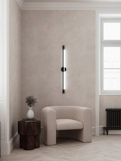 Nordic Chic, Interior Architecture, Interior Design, Architecture Visualization, Dream Decor, Living Room Inspiration, Living Room Interior, Prague, Wall Sconces