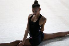 Aleksandra Soldatova (Russia), backstage World Championships (Stuttgart) 2015