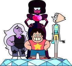 Crystal Gems - Steven Universe