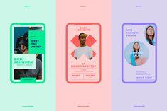 BASIC-Instagram Stories Animated by Invasi Studio on @creativemarket Media Kit Template, Social Media Template, Story Template, Social Media Branding, Social Media Design, Identity Branding, Corporate Identity, Visual Identity, Mobile Marketing