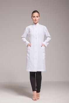 Jaleco Básico Florence KL32 | Klinik Jalecos. Premium Lab Coats.