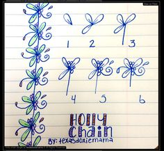 Holly Chain steps