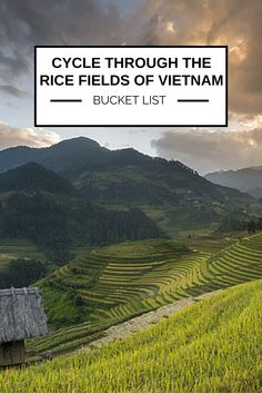 On a cycling journey through the rice paddies of Vietnam, witnessing centuries of tradition unfurl before your eyes, you can savour the majesty of life in this compelling region of South East Asia. #BucketList