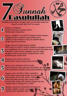 Sunnah nabi Muhammad SAW *Alhamdulillah. Doa Islam, Islam Muslim, Islam Quran, Quran Quotes, Faith Quotes, Qoutes, Islamic Inspirational Quotes, Islamic Quotes, Islamic Art