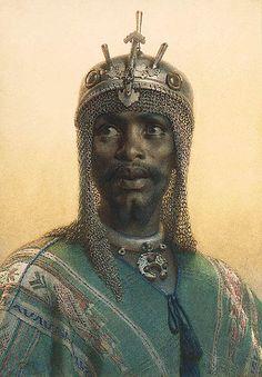 Carl Haag Adullah Chief of Said Pasha's Bodyguard 1873