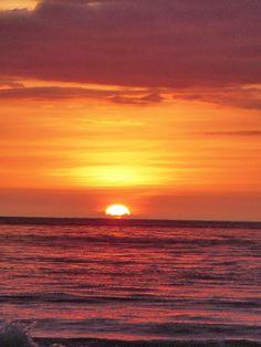 Sunset at Polihale Beach, Kauai, HI