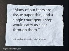 How thin are your fears? Have you tested one lately? Questions To Ponder, This Or That Questions, Setting Goals, Quotations, Leadership, Inspirational, Holidays, Quotes