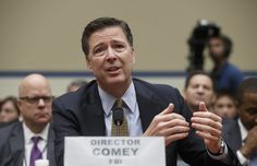 "First, James B. Comey was Republicans' Public Enemy No. 1 for not recommending charges against Hillary Clinton. Then, the FBI director was a GOP hero for disclosing new emails related to Clinton's investigation just before the election. Donald Trump even conceded that the electoral system ""might not be as rigged as I thought."" And to this day, Clinton blames her loss on Comey.  But as he often does, Jim Comey giveth and Jim Comey taketh away."