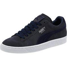 b6f20761141845 Puma Suede Grey Peacoat🔥🔥 Gold Sneakers