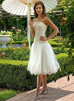 Vestidos cortos para la novia | Tips Para bodas en ARG