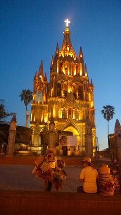 Spires of La Parroquia de San Miguel Arcangel