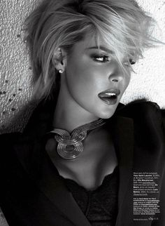 Ms. Congeniality 70's | Katherine Heigl | Carter Smith #photography |  Elle US January 2012