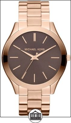 4d3744f2eed32 Every Girl Luvs them Some Micheal kors - Michael Kors Watch, Womens Slim  Runway Rose Gold Tone Stainless Steel Bracelet