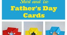 Shirt and Tie Father's Day Card Diy Father's Day Crafts, Father's Day Diy, Primary Activities, Sunday School Activities, Crafts For Seniors, Crafts For Kids, Card Making Ideas For Beginners, Tie Template, Easy Fathers Day Craft
