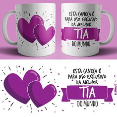 Gifts Unique Diy Coffee Mugs 15 Ideas Travel Brochure Design, Sublimation Mugs, Cute Valentines Day Gifts, Tea And Books, Cute Coffee Mugs, Decoupage Vintage, Posca, Personalized Mugs, Funny Mugs