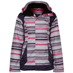 Oakley Women's Eaves 2.0 Jacket, Purple Stripe, Medium Oakley. $102.00. Save 40% Off!