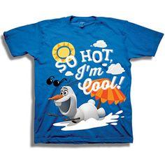 Disney Frozen Olaf the Snowman Im Cool Toddler Boy Graphic T-Shirt