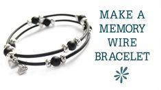 Video Tutorial: Bracelet- Memory Wire w. Tubing from Crafty Owl Café on youtube.com