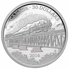 Royal Canadian Mint coins in larger than typical format commemorate the anniversary of the completion of the Grand Trunk Pacific Railway. Mint Coins, Silver Coins, Canadian Coins, Personal Resume, Silver Bullion, Commemorative Coins, Canadian Artists, Silver Bars, Coin Collecting