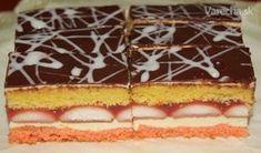 Zákusok je výborný, pečiem ho sporadicky na slávnostné príležitosti. Czech Recipes, Sweet Tooth, Cheesecake, Dessert Recipes, Food And Drink, Gluten Free, Cookies, Tik Tok, Hampers