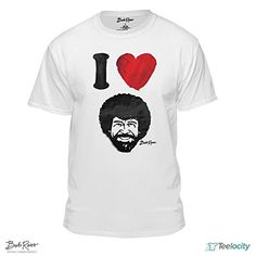 I Heart Bob Ross Officially-Licensed White T-shirt (Small... https://www.amazon.com/dp/B071112XLD/ref=cm_sw_r_pi_dp_U_x_DMQCAbE00XE99