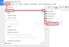 Como encontrar plantillas útiles en Google Drive.