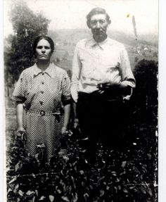 James Edward Parker and wife Claro