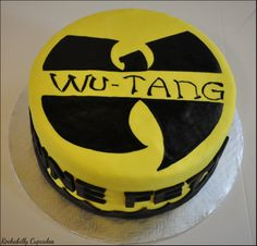 Wu-Tang themed cake by Rockabilly Cupcakes  www.rockabillycupcakes.com Party Themes, Party Ideas, Gift Ideas, Cupcake Cakes, Cupcakes, Wutang, Wu Tang Clan, Holiday Treats, Themed Cakes