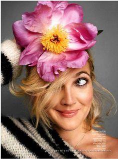 Drew Barrymore Fashion Editorials