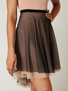 Mesh skirt from Free People