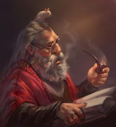 m Dwarf Wizard Cloak Rat Familiar Magic Book underdark fortress community mountain rough hills forest Hazem Ameen Fantasy Character Design, Character Concept, Character Inspiration, Character Art, Concept Art, Dungeons And Dragons Characters, Dnd Characters, Fantasy Characters, Fantasy Dwarf