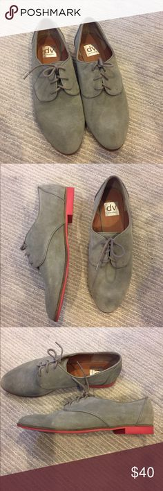 Dolce Vita Oxfords Dolce Vita. Brand new without box. Excellent condition. Size 10. Grey suede. Dolce Vita Shoes Flats & Loafers