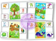 Лото «по сказке Путаница» (4 основы и 24 маленьких карточки, которые можно использовать и для других игр)