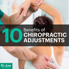 Benefits fo Chiropractic Adjustments Title Image