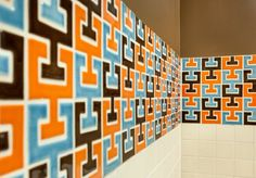 Chic & Retro Chaine Femme Bathroom | Installation Gallery | Fireclay Tile
