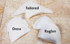 Choosing and Inserting Shoulder Pads Tailoring Techniques, Sewing Techniques, Diy Sewing Projects, Sewing Hacks, Coat Patterns, Sewing Patterns, Bra Pattern, Couture Sewing, Fabric Squares