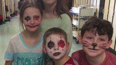 Carnaval 2016 School Videos, Halloween Face Makeup, Carnival