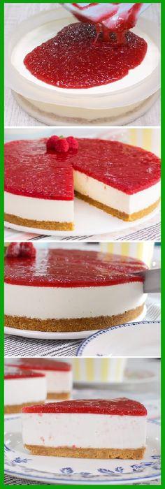 Cheesecake No Oven! Cheesecake Facil, Cheesecake Recipes, Chess Cake, Tasty, Yummy Food, Yummy Snacks, Yummy Yummy, Chocolate Recipes, Cake Chocolate