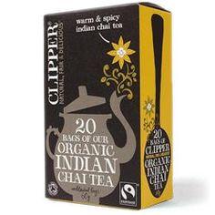 Fairtrade Organic Indian Chai Tea 20 bags