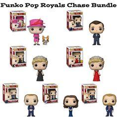 British Royals Funko Pop Chase Bundle