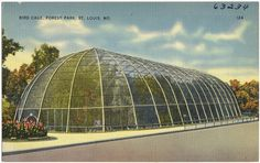 Bird Cage, Forest Park, St. Louis, Mo. by Boston Public Library, via Flickr