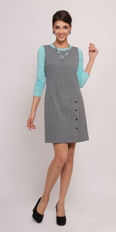 Womens Vintage Clothing Sewing Patterns 40 Ideas For 2019 Fashion Vestidos, Fashion Dresses, Pinafore Pattern, Vintage Outfits, Vintage Clothing, Nice Dresses, Dresses For Work, Pinafore Dress, Fashion Sewing