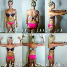 Hammer and Chisel Results  www.jessdukes.com - Wow! I hope to have great results like she did!! www.beachbodycoach.com/jessstclair