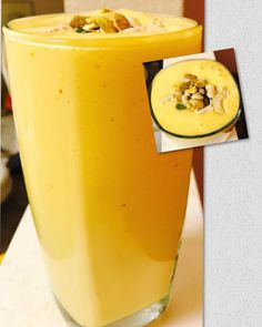 Yummy Smoothie Recipes, Eat Happy, Summer Special, Iftar, Fruits And Vegetables, Ramadan, Vegetarian Recipes, Mango, Spices