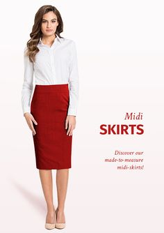 Midi skirts are the perfect addition to your Spring wardrobe ☀️ Click here to see our newest collection Buy Dress, Shirt Dress, Affordable Dresses, Women's Fashion Dresses, Suits For Women, Dress Collection, Dresses For Sale, Feminine, Female